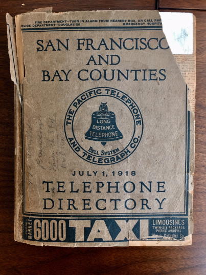 SFPhonebook_July1918_cover
