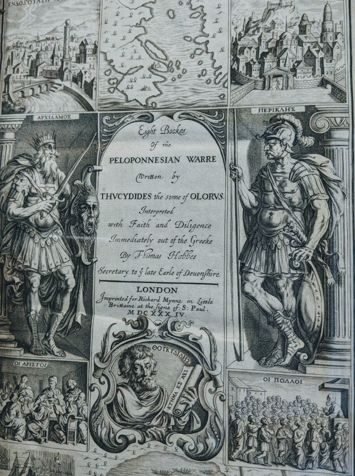 Thucydides Hobbes