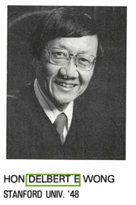 Judge Delbert